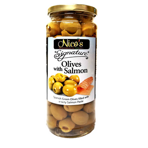 Nico's - Olives With Salmon-The Italian Shop