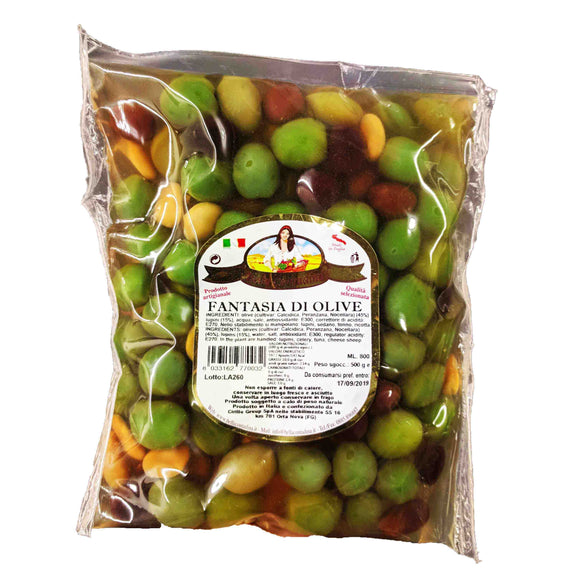 Olives - Fantasia Di Olive-The Italian Shop