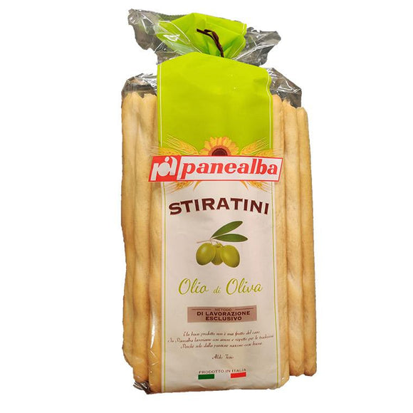 Panealba Stiratini - Olia di Oliva ( Olive Oil ) - Breadsticks-The Italian Shop