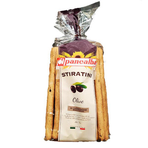 Panealba Stiratini - Olive - Breadsticks-The Italian Shop
