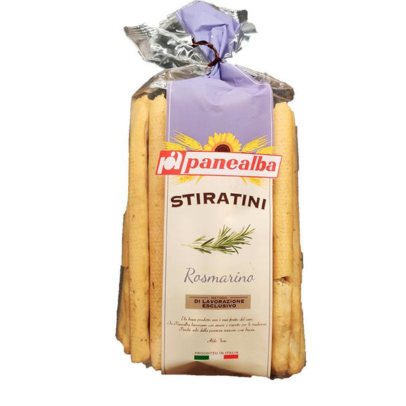 Panealba Stiratini - Rosmarina ( Rosemary ) - Breadsticks-The Italian Shop