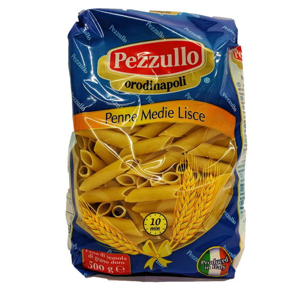 Pezzullo - Penne Medie Lisce no 92-The Italian Shop