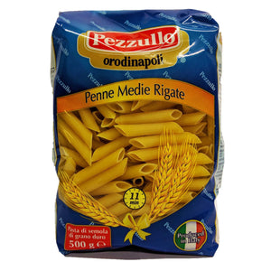Pezzullo - Penne Medie Rigate no 93-The Italian Shop