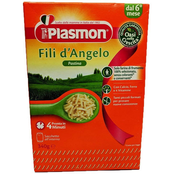 Plasmon - Fili d'Angelo Pastina ( 6 months ) - The Italian Shop - Free delivery