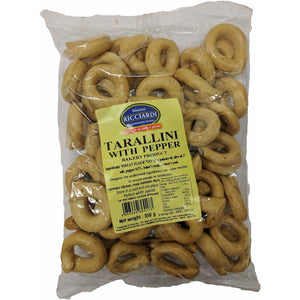 Ricciardi - Tarallini with pepper - The Italian Shop - Free delivery