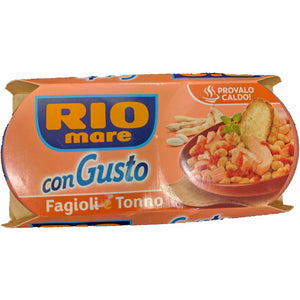 Rio Mare - Con Gusto -Fagioli e tonne ( Tuna and beans ) - The Italian Shop - Free delivery