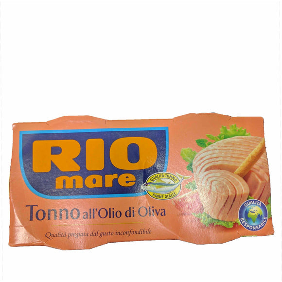 Rio Mare - Tonne - All' Olio di Oliva ( Tuna in Olive oil ) - The Italian Shop - Free delivery