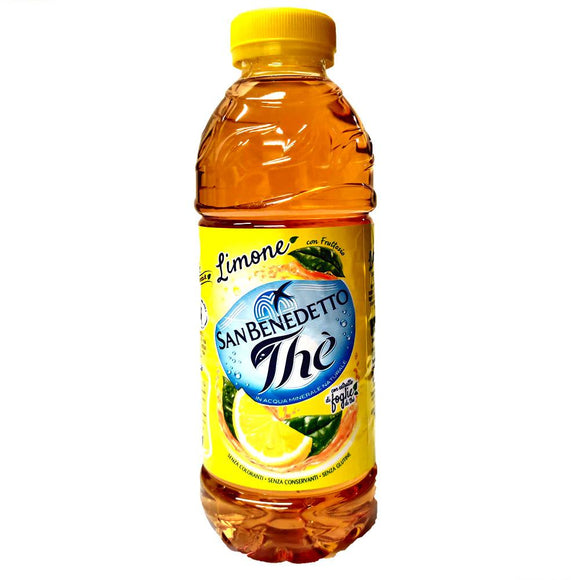 San Benedetto - Lemon tea ( 0.5L)-The Italian Shop