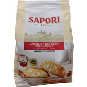Sapori - Cantuccini Toscani ( Almond bisuits ) - The Italian Shop - Free delivery
