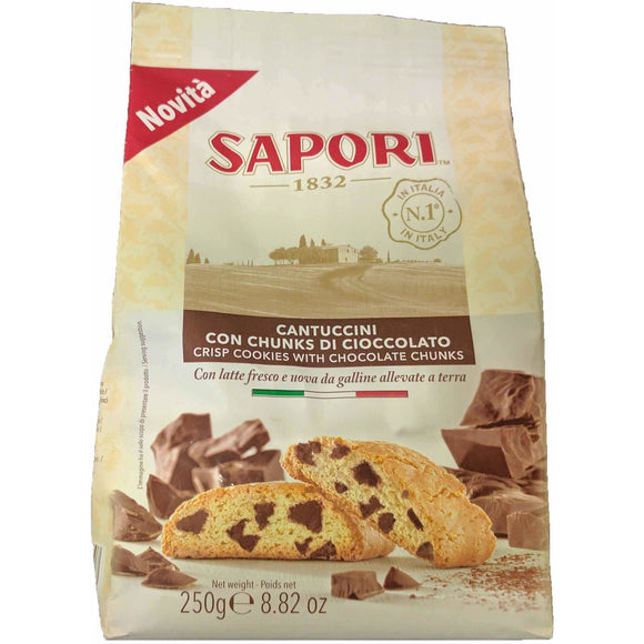 Sapori - Chocolate chip Cantuccini - The Italian Shop - Free delivery