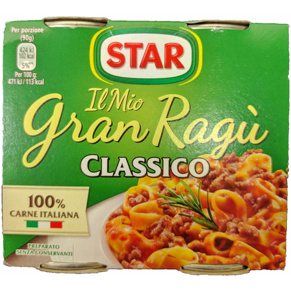 Star - Classico pasta sauce ( 2 pack ) - The Italian Shop - Free delivery