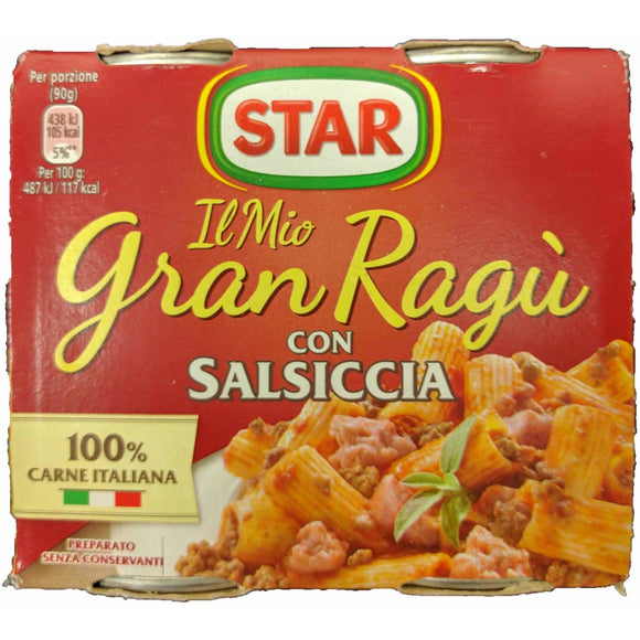 Star - Salsiccia ( pasta sauce 2 pack ) - The Italian Shop - Free delivery
