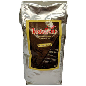 TostaD'oro - Ground Espresso Coffee - The Italian Shop - Free delivery