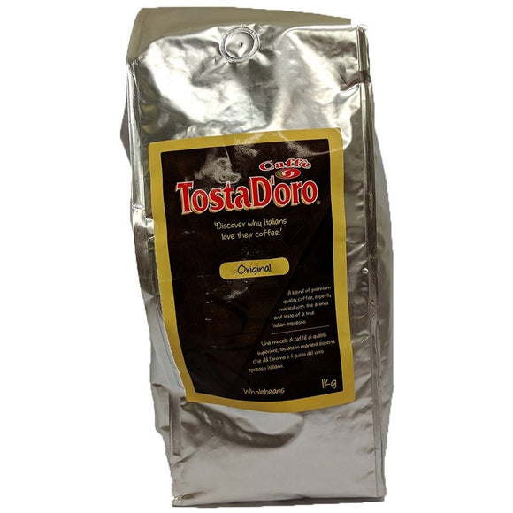 TostaD'oro - Wholebean Caffe Original - The Italian Shop - Free delivery