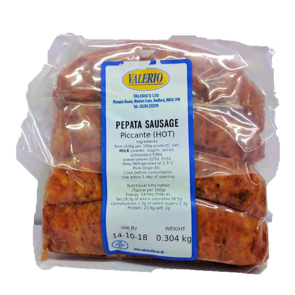 Valerio - Pepata Sausage - Piccante ( Hot )-The Italian Shop