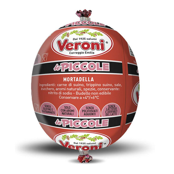Veroni - Mortadella - Whole (300g)-The Italian Shop - Free Delivery