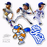 Blue Crew Sticker Pack