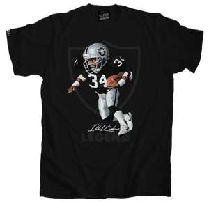 bo jackson tee, raiders shirt