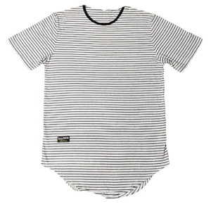 Men's Striped Scoop Shirt