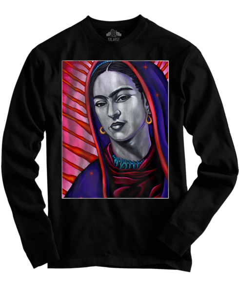 Frida Long Sleeve Black tee