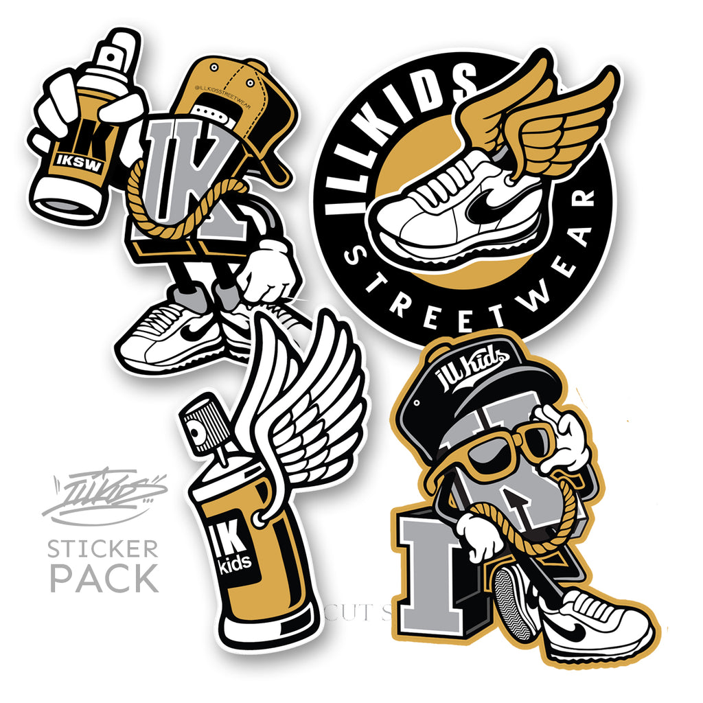IKSW Mascot sticker pack