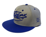 IKSW Handstyle Grey/Blue Snap Back
