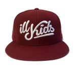 IKSW Revamped Logo- Burgandy Snap Back