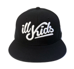 IKSW Revamped Logo -Black Snap Back