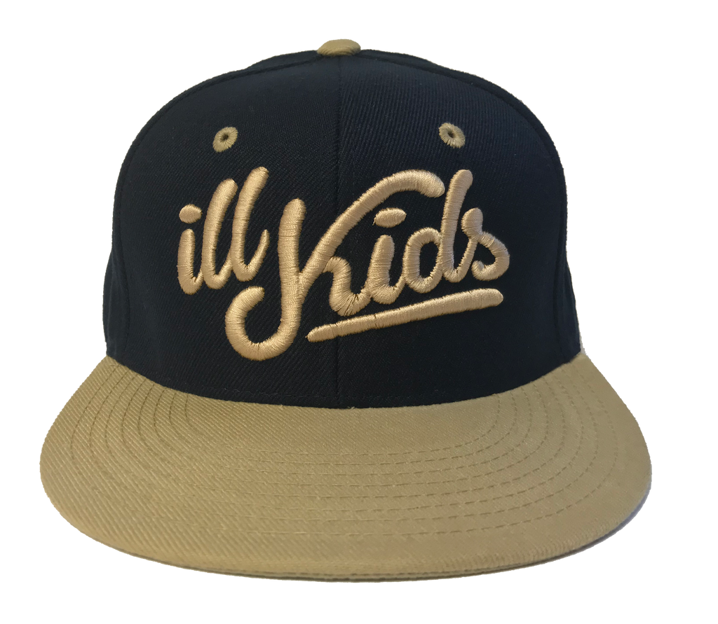 IKSW Revamped Logo Navy blue/ Cream Snapback