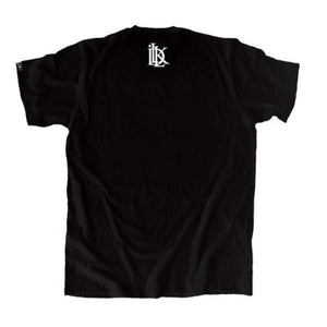 black L.A tee, los angeles black tee