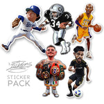 LA Legends Sticker Pack - 5 stickers