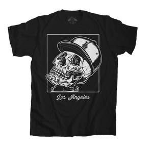 Los Angeles black tee, Skull T-Shirt