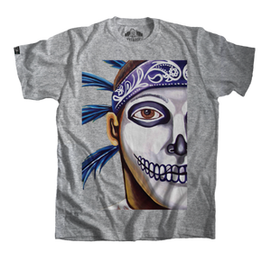 Grey Aztec Warrior Shirt