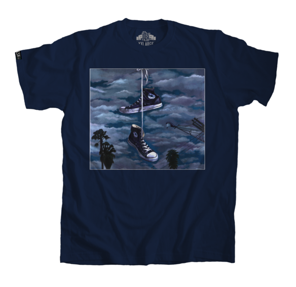 Men's navy blue tee