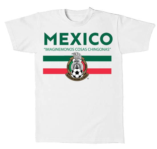 Mexico tee, white mexico shirt