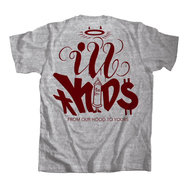 IKSW X Dsrup - Heather Grey - ILLKids StreetWear