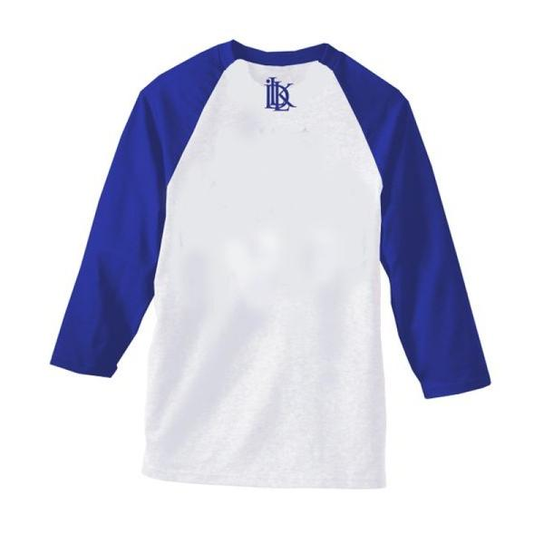 dodgers blue and white raglan