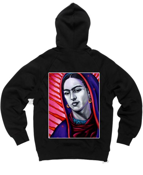 Frida Black Hoodie, Frida Kahlo sweater