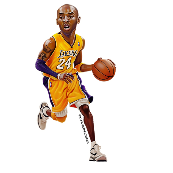 kobe sticker, lakers sticker