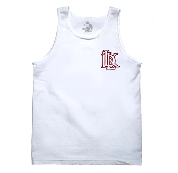 Men's white tank top illkids