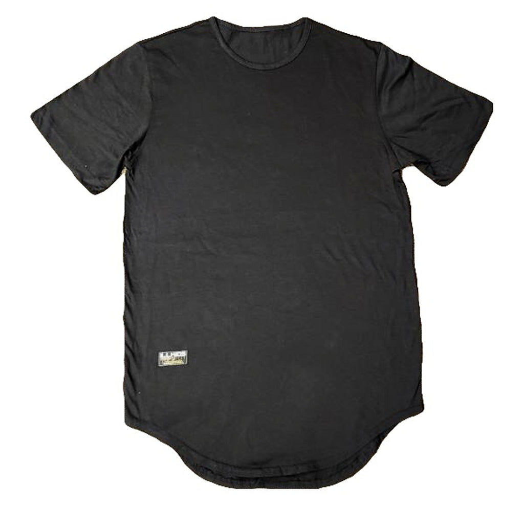 C&S Black Scoop Shirt