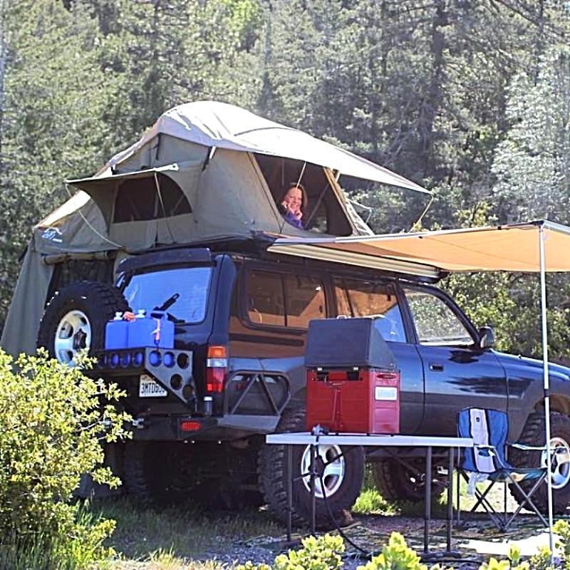 HITents Rincon Scout Edition Roof Top Tent - w/Annex - 3 Season - 2+ Person  Tents Elevated