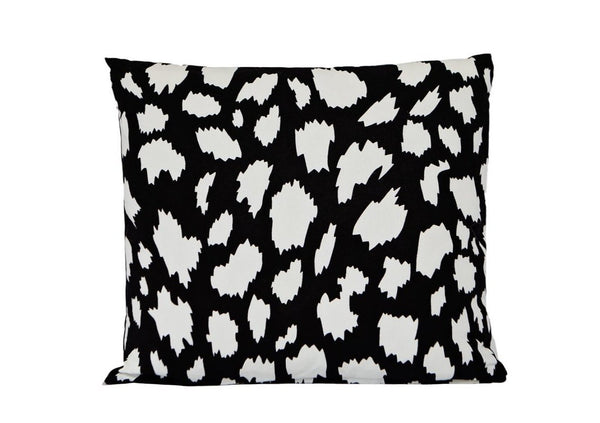 hundred percent cotton black white print cushion cover insert 50 x 50 Pinata Kids Australia New Zealand