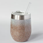 Glittered Personalized Tumblers or Hydrofit Water Bottles
