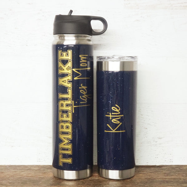 School Tumbler or Hydrofit Water Bottle