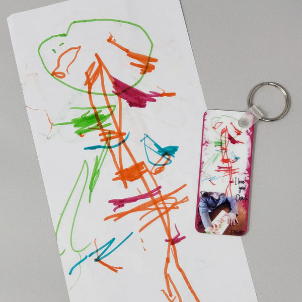 Personalized Art Keychains