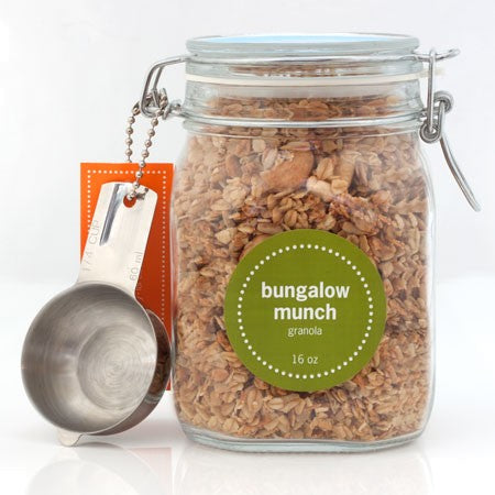 bungalow munch 16oz jar