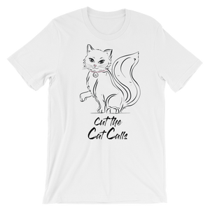 Cut the Cat Calls Boyfriend T-T-Shirt-Konsnt-Times Up