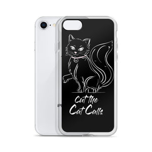 Cut the Cat Calls - iPhone Case-Konsnt-Times Up