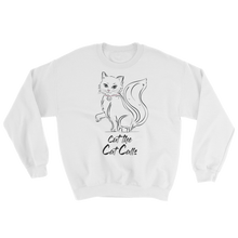 Cut the Cat Calls Sweatshirt-Sweatshirt-Konsnt-Times Up